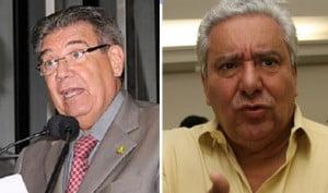 Senador Cyro Miranda e deputado Vilmar Rocha: projetos sacrificados para segurar Caiado