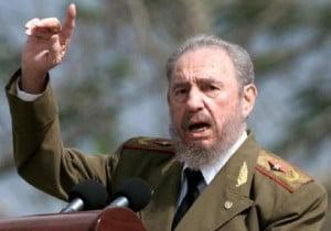 Fidel Castro, líder da revolução cubana: em que pesem as conquistas, é tempo de abrir o país à democracia