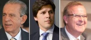 Iris Rezende, Daniel Vilela e Paulo Garcia: opções para 2014 que dividem o PMDB