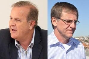 Prefeitos de Goiânia, Paulo Garcia, e de Anápolis, Antônio Gomide: implodidos por Iris