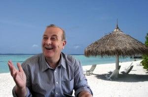 Prefeito Paulo Garcia: desde o dia 14 no Panamá