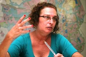 Patrícia Veras, titular da SMT: gestão desastrosa