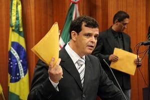 Vereador Paulo Borges: com a corda no pescoço