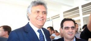 Vanderlan e Caiado: dupla tem apoio do controverso Braga