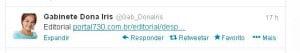 tweet dona iris