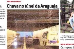 chuva tunel