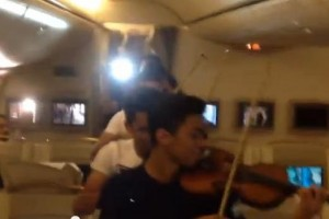 orquestra voo