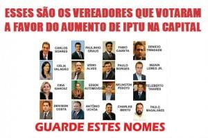 IPTU lista
