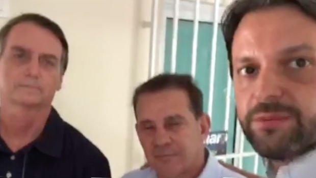 Em vídeo, ministro Alexandre Baldy declara apoio a Bolsonaro ...