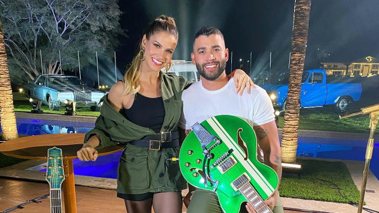 Andressa Suita revela que se casou com Gusttavo Lima com separação de bens  - Goiás 24 horas